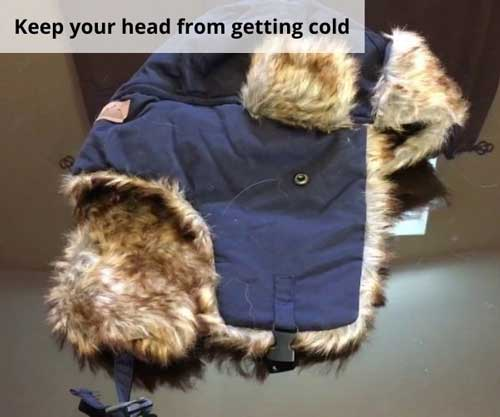 Keep your head from getting cold