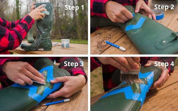 How to fix a crack or splits