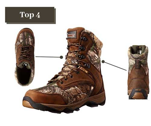 Rocky-Retraction-800G-Hunting-Boots