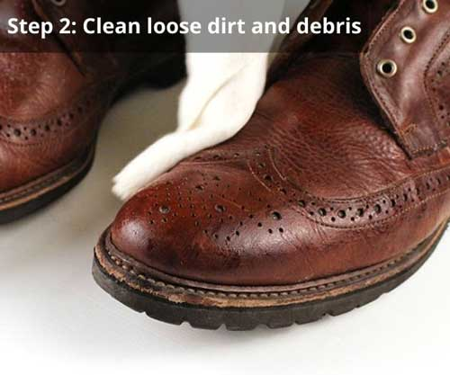 Clean-loose-dirt-and-debris-leather-boots