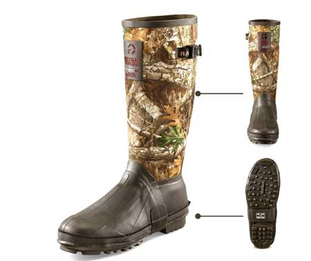 Guide-Gear-Men-15-Insulated-Rubber-Boots